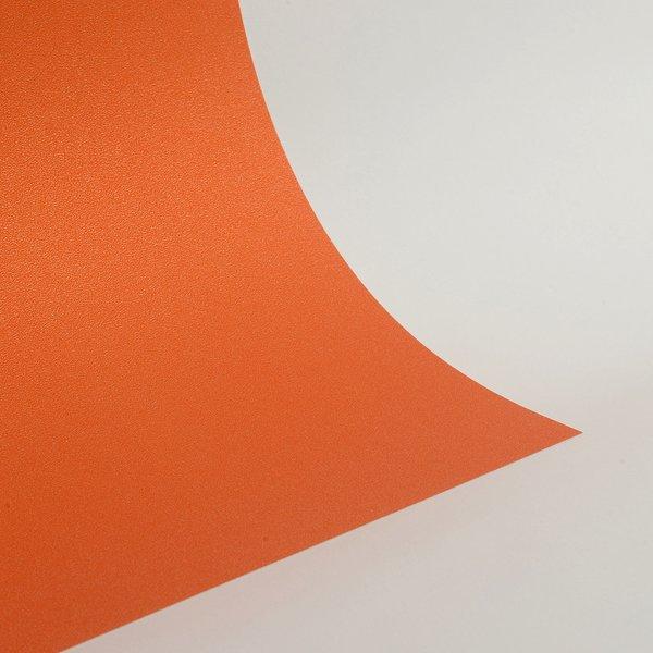 "Ultra Fine Glitter Sticky Paper, 12"" x 12"" x 1 sheet, Orange, SKU# GT-1212010"