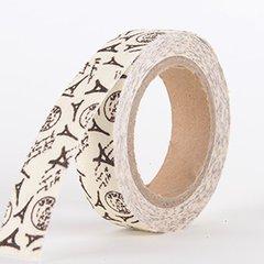 Fabric Decorative Tape, Paris, SKU: OT001