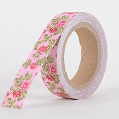 Fabric Decorative Tape, Flower, SKU: FL032