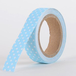 Fabric Decorative Tape, Dots, SKU: DT006