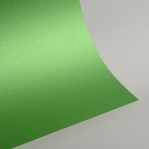 "Ultra Fine Glitter Card Stock, 12"" x 12"" x 3 sheets, Apple Green, SKU# GC-1212013-3"