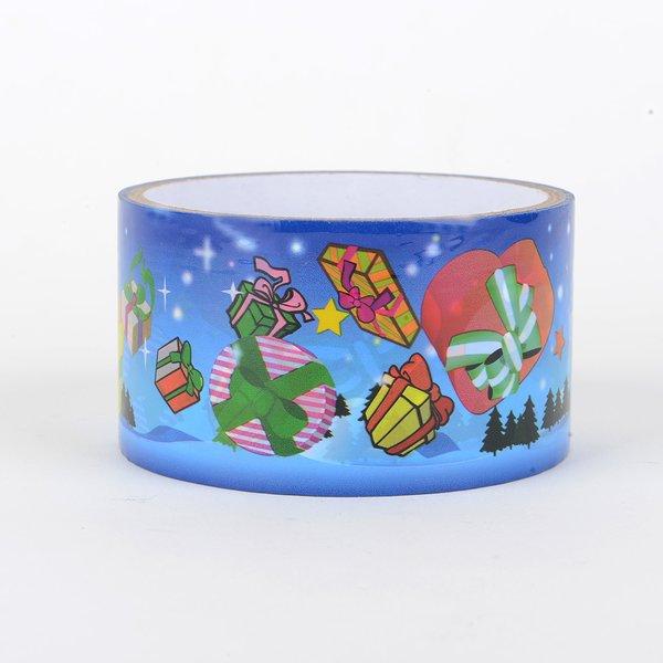 Christmas Gift Wrapping Tape, Christmas Night, SKU: DT480156