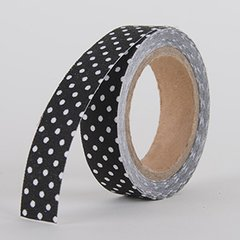 Fabric Decorative Tape, Dots, SKU: DT014
