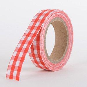 Fabric Decorative Tape, Checker, SKU: CH304