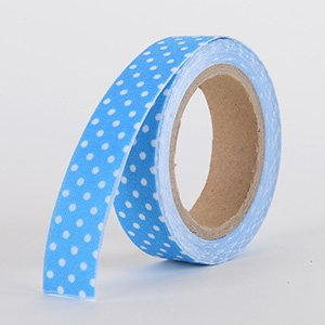 Fabric Decorative Tape, Dots, SKU: DT007