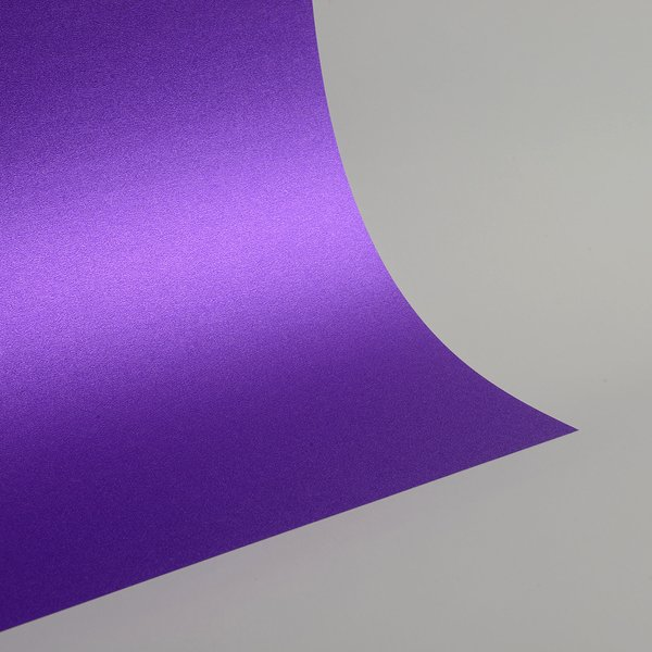 "Ultra Fine Glitter Sticky Paper, 6"" x 9"" x 5 sheets, Purple, SKU# GT-180"
