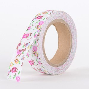 Fabric Decorative Tape, Flower, SKU: FL011