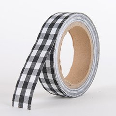 Fabric Decorative Tape, Checker, SKU: CH305