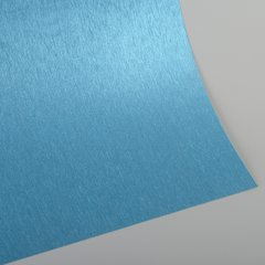 "Satin Glitter Sticky Paper, 6"" x 9"" x 5 sheets, Satin Aqua Blue, SKU# GTS-192"