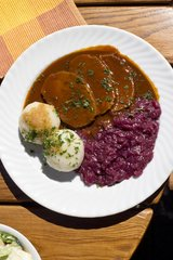 Fri., Sept 22nd (TUESDAY 8PM ORDER DEADLINE): Family Meal: Classic Sauerbraten (Pickled Pot Roast) (Serves 4 / Time to Cook: 30 min. / Cook By Day: Monday)