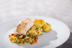 Fri., Feb 23rd: Wild Atlantic Cod Persillé over a Medley of Purple Winter Radishes, Kohlrabi, & Baby Brussels Sprouts ($17 Per Person / Cook by Day: Sunday)