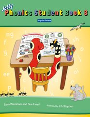 Jolly Phonics Student Book 3 (Color In Print Letters)