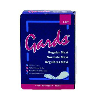 MaxiPads, #4 Gards by Hospeco