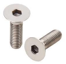 Grainger Neck Screw - M5 x 35mm Counter Sunk Screw, Black or Stainless Finish - Bulk Pack