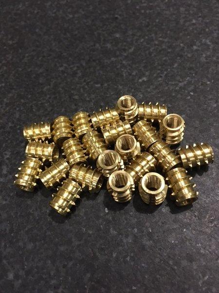 Grainger Threaded Brass Insert - M5 - Bulk Pack
