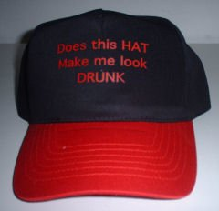 Does this hat make me look drunk