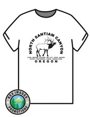 North Santiam Canyon -- T-Shirt or Hoodie