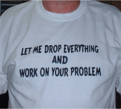 Drop everything for You -- T-Shirt or Hoodie