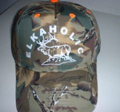 Elkaholic or Fishaholic Hat