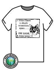 Cute Kitty -- T-Shirt or Hoodie