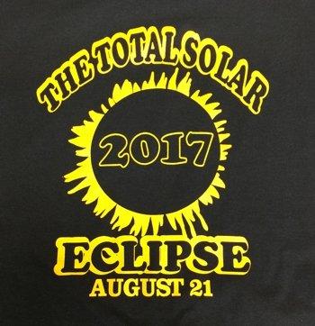 Total Solar Eclipse Black T Shirt Coffee Mugs Art Prints Fishing T