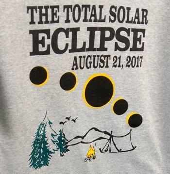 Total Solar Eclipse Campsite T Shirt Coffee Mugs Art Prints