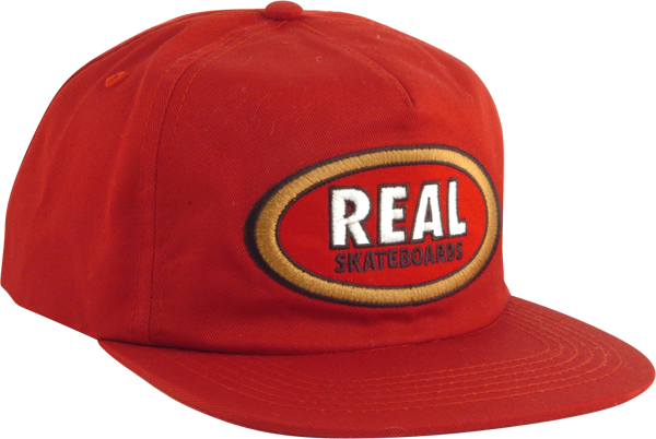 REAL OVAL UNSTRUCTURED HAT SNAPBACK