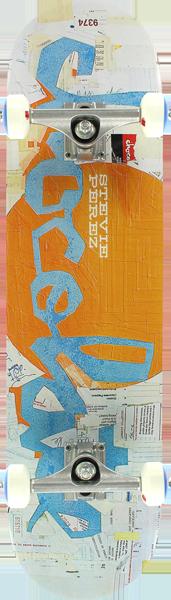 CHOCOLATE PEREZ ART DUMP CHUNK COMPLETE - 8.0
