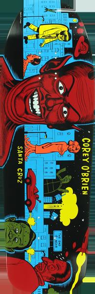 Santa Cruz Corey O'Brien Mutant City Re-Issue - 10x31.86