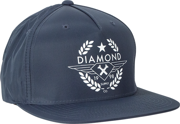 DIAMOND SHINE CREST HAT CLIP BACK