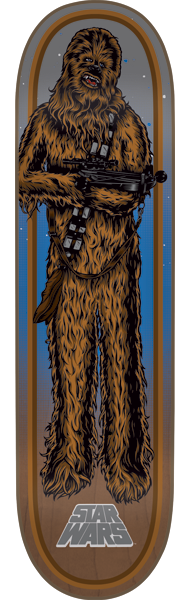 Santa Cruz Star Wars Chewbacca - 8.26