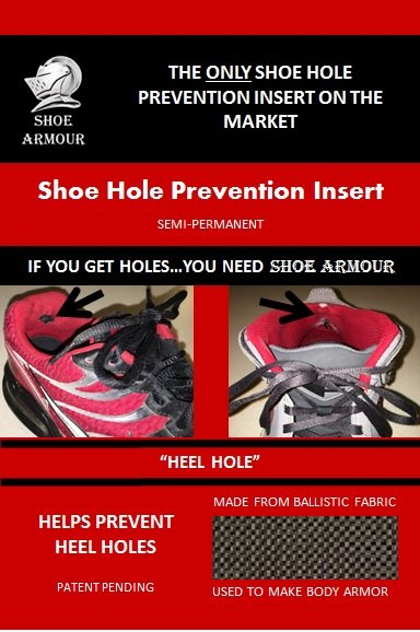 Shoe Armour Heel Hole