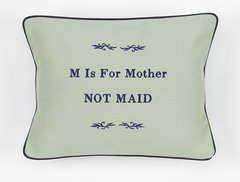Item # P430 M is for Mother not maid.