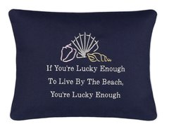 Item # P454 If you're lucky enough to live by the beach you're lucky enough.