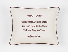 Item # P476 Good friends are like angels, you don't have to see them to know they are there.