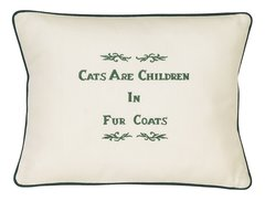 Item # P102 Cats are children in fur coats.