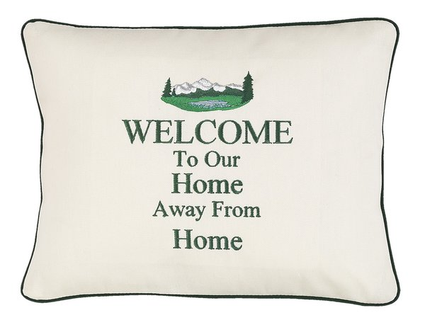 Item # P428 Welcome to our home away from home (Mountains ...