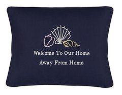 Item # P427A Welcome to our home away from home (Sea shells))