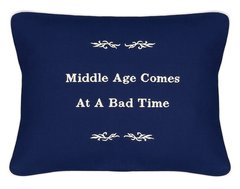 Item # P113 Middle age comes at a bad time.