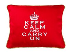 Item # P136 Keep calm and carry on.