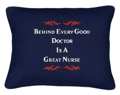 Item # P141 Behind every good doctor is a great nurse.