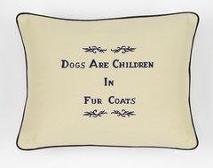 Item # P108 Dogs are children in fur coats.