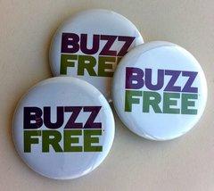 1000 BuzzFree Buttons