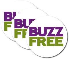 500 BuzzFree Stickers