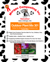 Morgan Composting - Outdoor Plant Mix 301 (35 Lbs.)