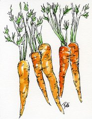 Carrots - Giclee Reproduction