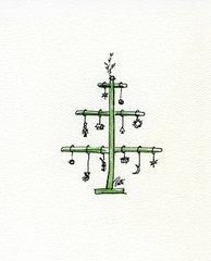 German Tree Notecards (set of 8)