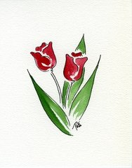 Tulips Notecards (set of 8)