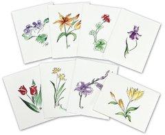 Assortment - Floral Notecards (Set of 8)