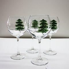 Evergreen - set of 4 wine glasses